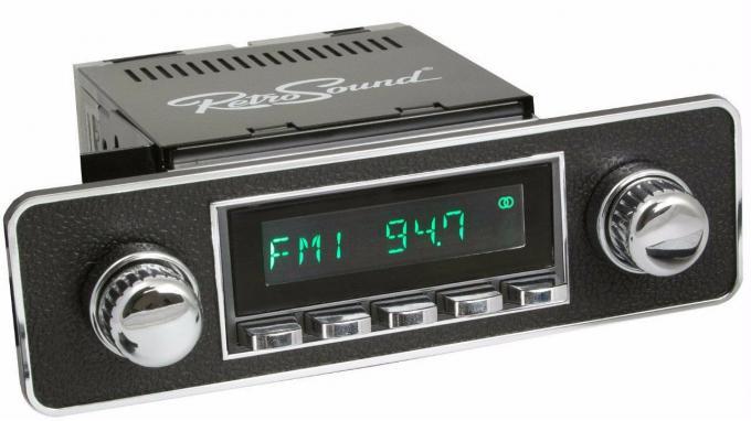 RetroSound 1990-93 Volkswagen Corrado Long Beach Radio with DIN Kit
