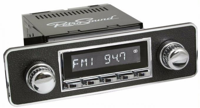 RetroSound 1985-88 Fiat Bertone X 1/9 Laguna Radio with DIN Kit