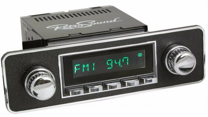 RetroSound 1984-91 Honda CRX Long Beach Radio with DIN Kit
