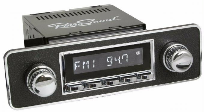 RetroSound 1970-83 Fiat Spider Laguna Radio with DIN Kit