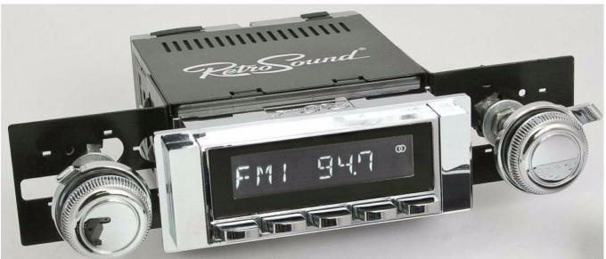 RetroSound 1964-65 Chevrolet Chevelle Hermosa Radio