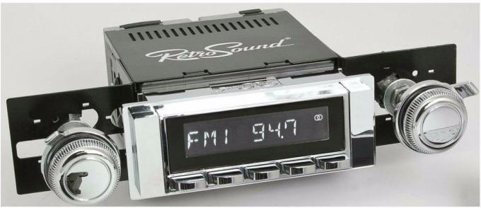 RetroSound 1963-64 Chevrolet Biscayne Hermosa Radio