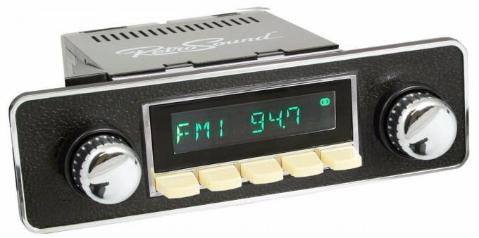 RetroSound 1956-64 Porsche Carrera Hermosa Radio