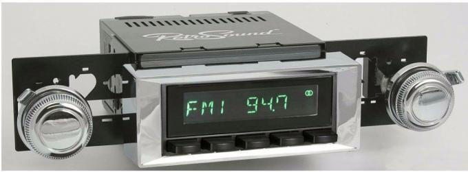 RetroSound 1966-67 Chevrolet Chevelle Long Beach Radio