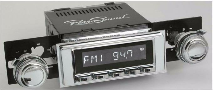 RetroSound 1969-72 Chevrolet Biscayne Hermosa Radio