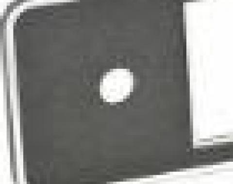 RetroSound Black Euro Plate with Chrome Trim (#502)