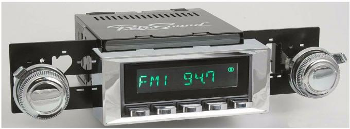 RetroSound 1966 Chevrolet Caprice Long Beach Radio