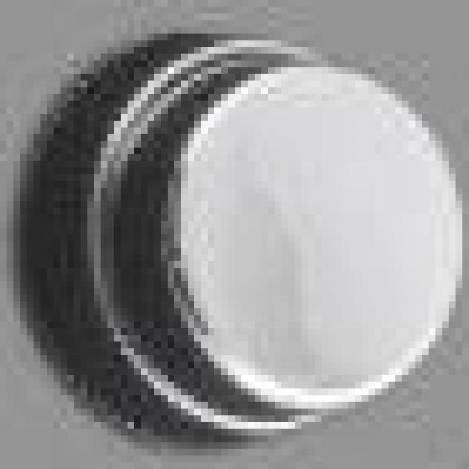 RetroSound Mopar Chrome Front Knobs (#12) / Chrome Rear Knobs (#82)
