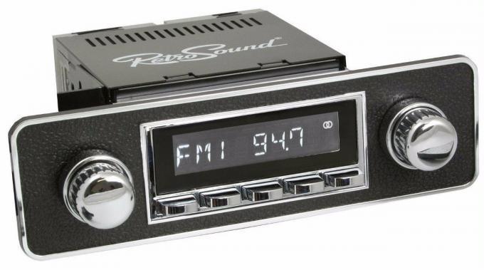 RetroSound 1995-02 Volkswagen Cabrio Laguna Radio with DIN Kit