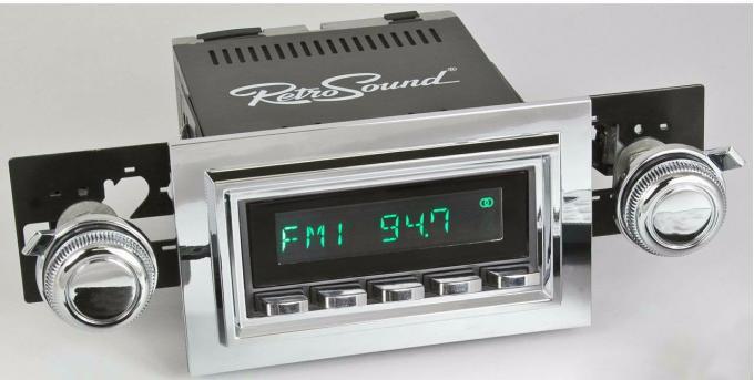 RetroSound 1961-62 Chevrolet Impala Long Beach Radio
