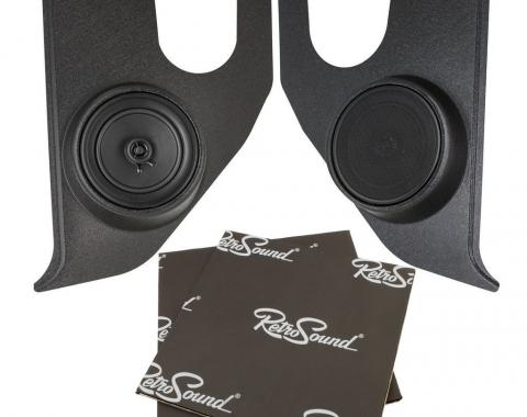 RetroSound Kick Panels for 1967-72 GMC Truck