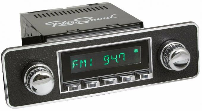 RetroSound 1999-04 Mercedes Benz SLK-230/320 Long Beach Radio with DIN Kit