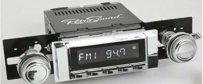 RetroSound 1963-64 Chevrolet Bel Air Hermosa Radio