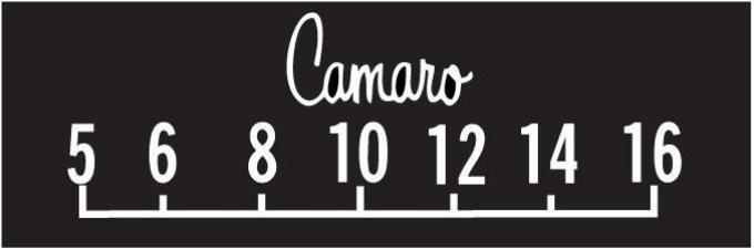 RetroSound Chevrolet Camaro Logo Screen Protector, Pkg of 3