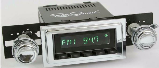 RetroSound 1969-72 Chevrolet Biscayne Long Beach Radio
