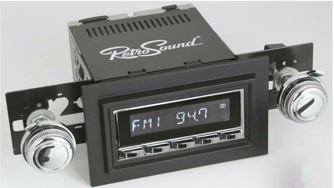 RetroSound 1961-63 Oldsmobile Cutlass/F85 Hermosa Radio