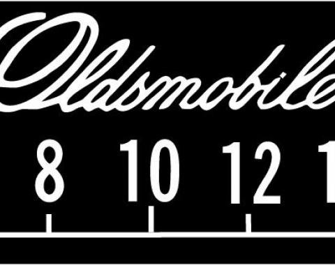 RetroSound Oldsmobile Logo Screen Protector, Pkg of 3
