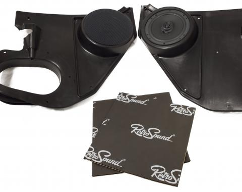 RetroSound Kick Panels for 1973-85 Chevrolet Truck