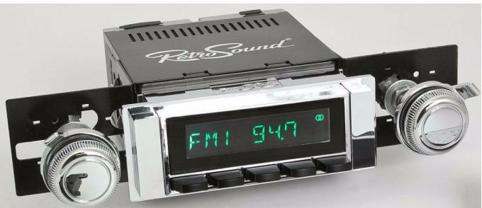RetroSound 1963-64 Chevrolet Biscayne Long Beach Radio
