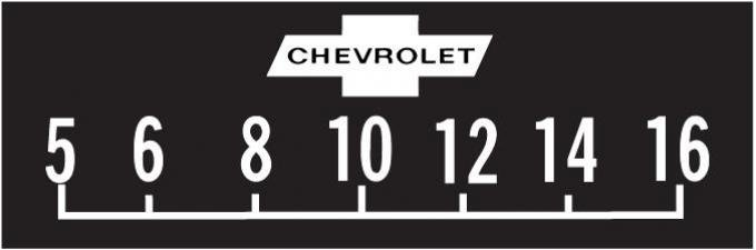 "RetroSound Chevrolet Logo Screen Protector with Solid ""Bowtie"", Pkg of 3"