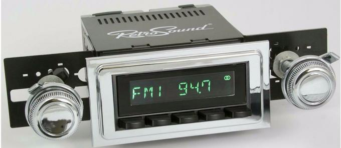 RetroSound 1968-72 Chevrolet Malibu Long Beach Radio