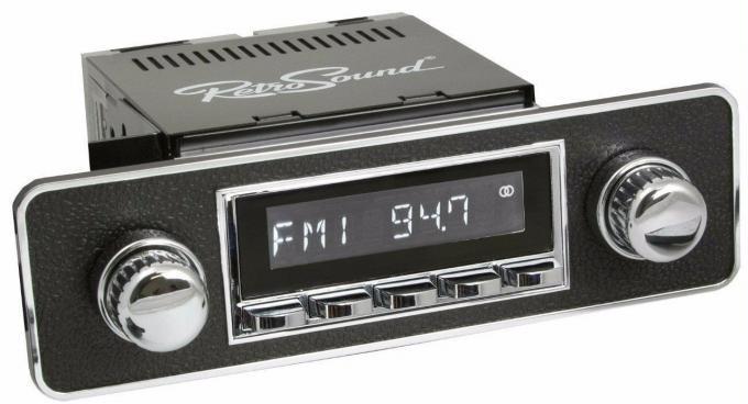 RetroSound 1988-92 Sterling 825 Hermosa Radio with DIN Kit