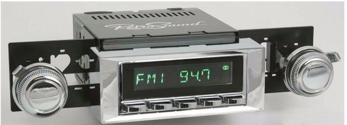 RetroSound 1968-72 Pontiac GTO Laguna Radio