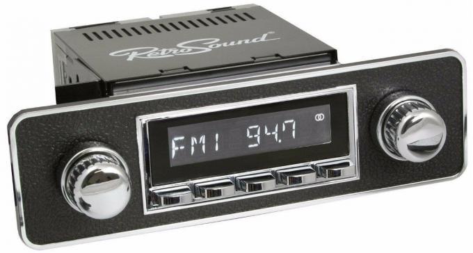 RetroSound 1970-83 Fiat Spider Long Beach Radio with DIN Kit