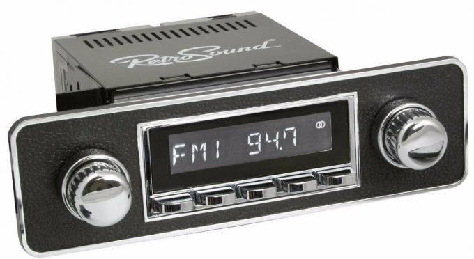 RetroSound 1980-95 Honda Civic Long Beach Radio with DIN Kit