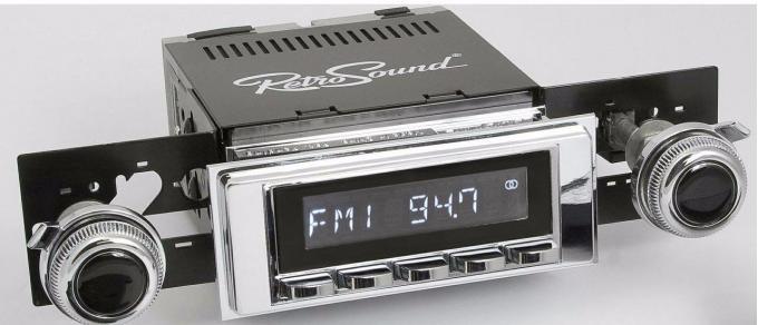 RetroSound 1969 Chevrolet Camaro Hermosa Radio