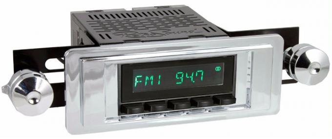 RetroSound 1955-56 Cadillac DeVille Long Beach Radio