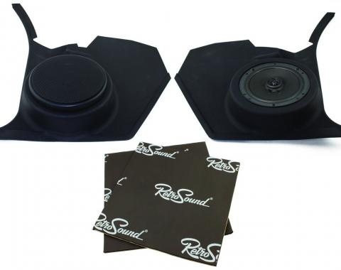 RetroSound Kick Panels for 1968-72 Pontiac LeMans with No Factory Air Conditioning