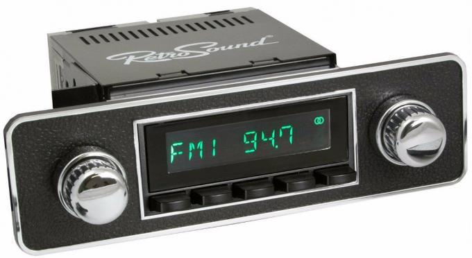 RetroSound 1977-89 BMW 320i Long Beach Radio with DIN Kit