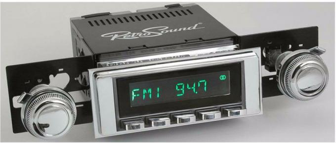RetroSound 1969 Chevrolet Camaro Long Beach Radio