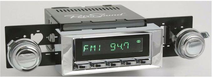 RetroSound 1966-70 Oldsmobile Toronado Hermosa Radio