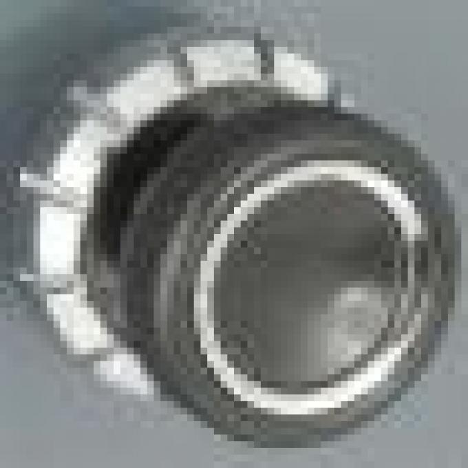 RetroSound Black with Chrome Ring Becker Style Front Knobs (#39) / Chrome Rear Knobs (#78)