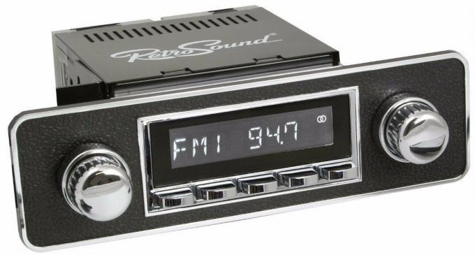 RetroSound 1985-89 Merkur XR4 Ti Long Beach Radio with DIN Kit