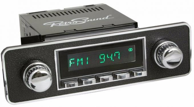 RetroSound 1995-02 Volkswagen Cabrio Long Beach Radio with DIN Kit