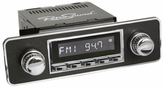 RetroSound 1982-89 Honda Accord Hermosa Radio with DIN Kit