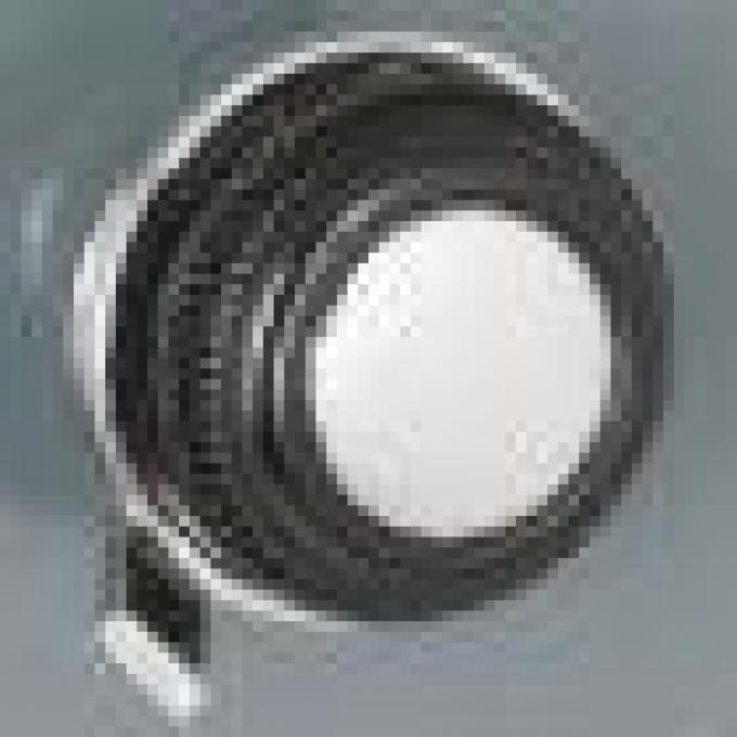 RetroSound Black with Chrome Dot Front Knobs (#23) / Chrome Rear Knobs (#73)
