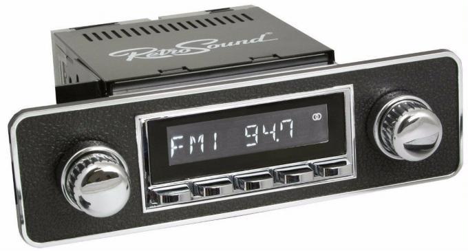 RetroSound 1988-93 Pontiac Lemans Hermosa Radio with DIN Kit