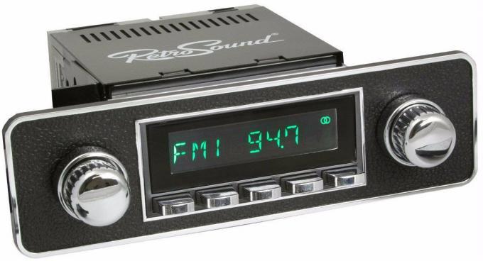 RetroSound 1982-88 Volkswagen Quantum Long Beach Radio with DIN Kit