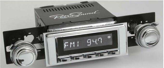 RetroSound 1969-72 Chevrolet Bel Air Laguna Radio