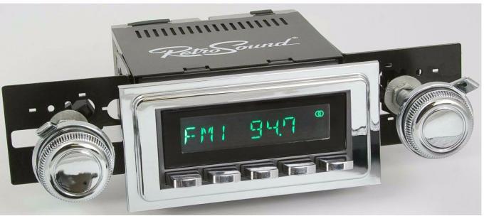RetroSound 1964-67 Pontiac LeMans Long Beach Radio