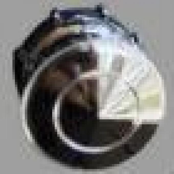 RetroSound 1955-1956 Chevy Chrome Front Knobs (#14) / 1955-1956 Chevy Chrome Rear Knobs (#84)