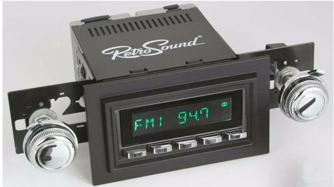 RetroSound 1968-79 Ford F-Series Truck with Deluxe 8-Track Factory Radio Long Beach Radio