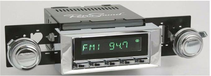 RetroSound 1968-72 Pontiac GTO Hermosa Radio