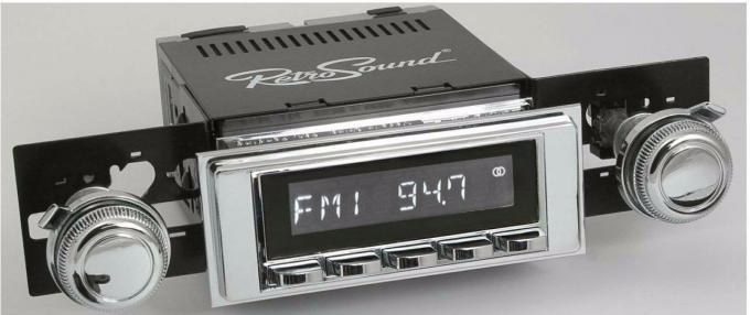 RetroSound 1968-72 Chevrolet Malibu Hermosa Radio
