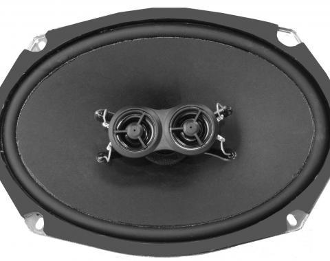 RetroSound 6x9-Inch Premium Ultra-thin Dash Speaker