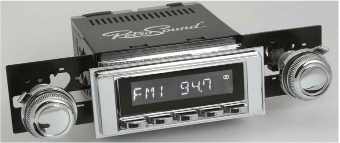 RetroSound 1968-70 Chevrolet El Camino Hermosa Radio